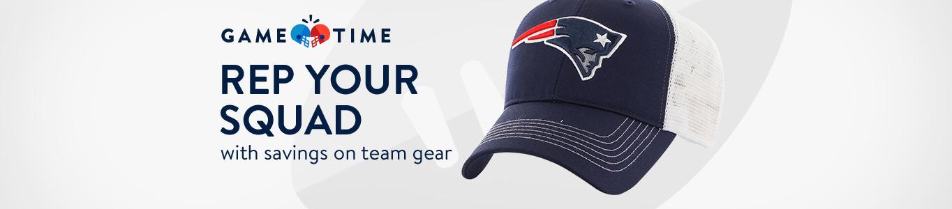 Rep your squad with savings on team gear