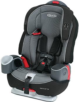 Graco Nautlius 3-in-1 convertible child safety car seat