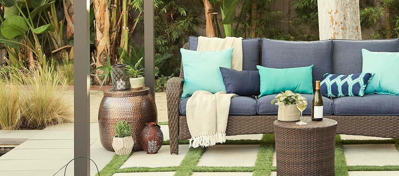 Patio-Perfect Updates. Beautify your backyard with fresh new looks in patio furnishings.