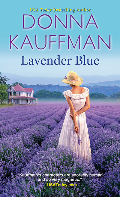 donna kauffman lavender blue book cover