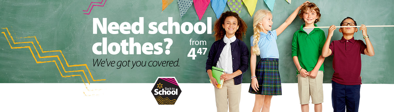 School Uniforms & Clothing