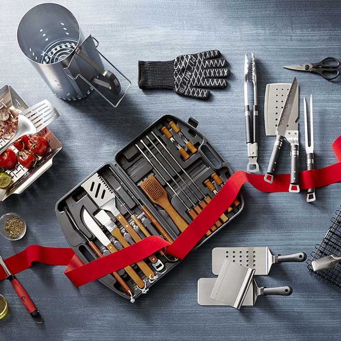 Grills & grilling accessories.