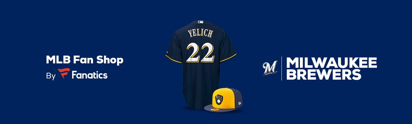 best service 01be1 decde Milwaukee Brewers Team Shop - Walmart.com