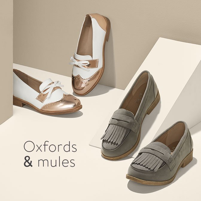 Oxfords Mules Embrace Menswear Inspired Shoe Trends