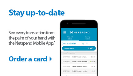 prepaid debit card netspend walmartcom - Prepaid Cards With Mobile Deposit