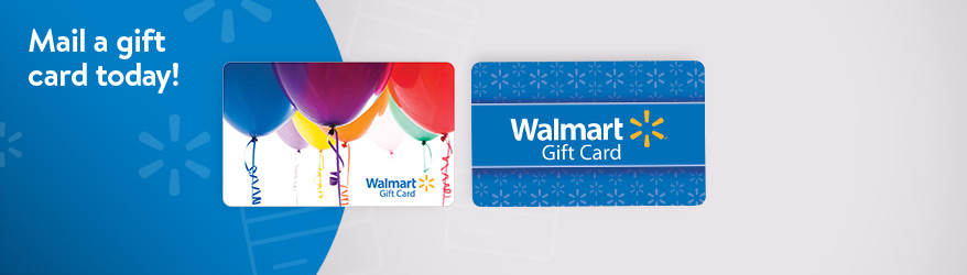Give the gift of a Walmart gift card!