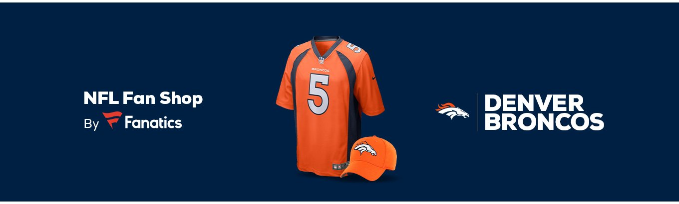 best service 7c4d5 d00e0 Denver Broncos Team Shop