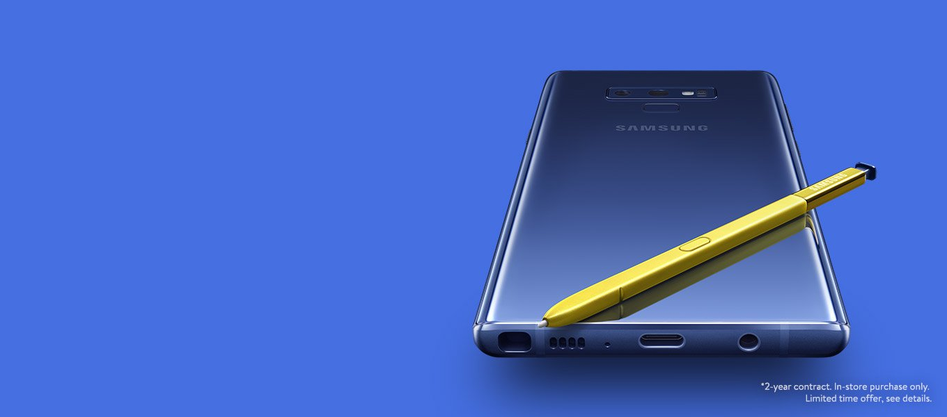 the new galaxy note9