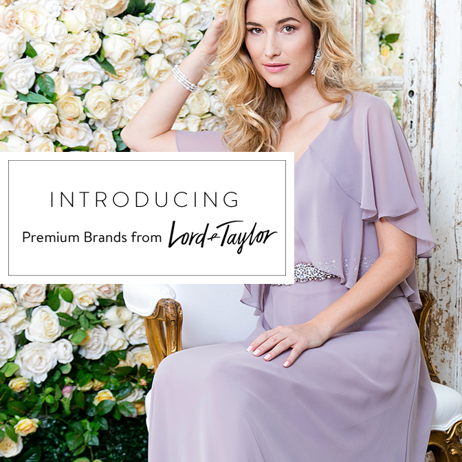 Introducing Premium Brands from Lord and Taylor