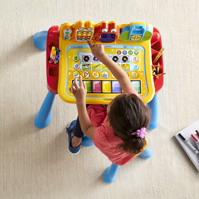 Make learning fun with playsets.