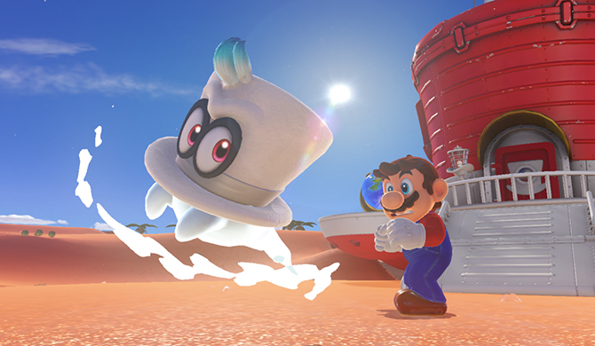 Super Mario Odyssey brings Mario back to his roots