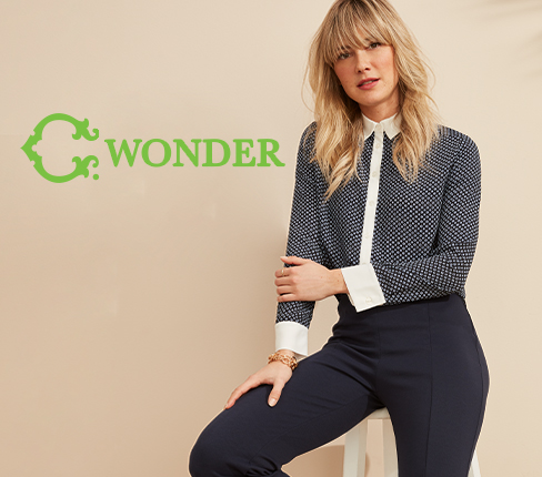 C. Wonder.Colorful. Chic. Modern.Exclusively at Walmart.com.Shop now.