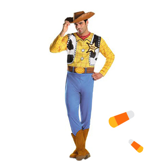 School Boy Rocker Mens Costume Size OS
