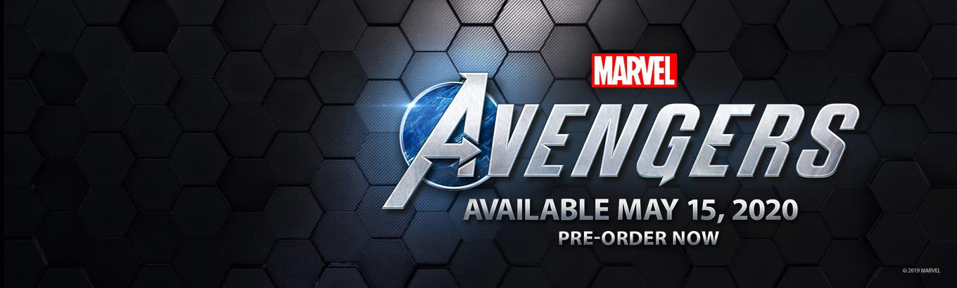 Marvel Avengers. Preorder now.