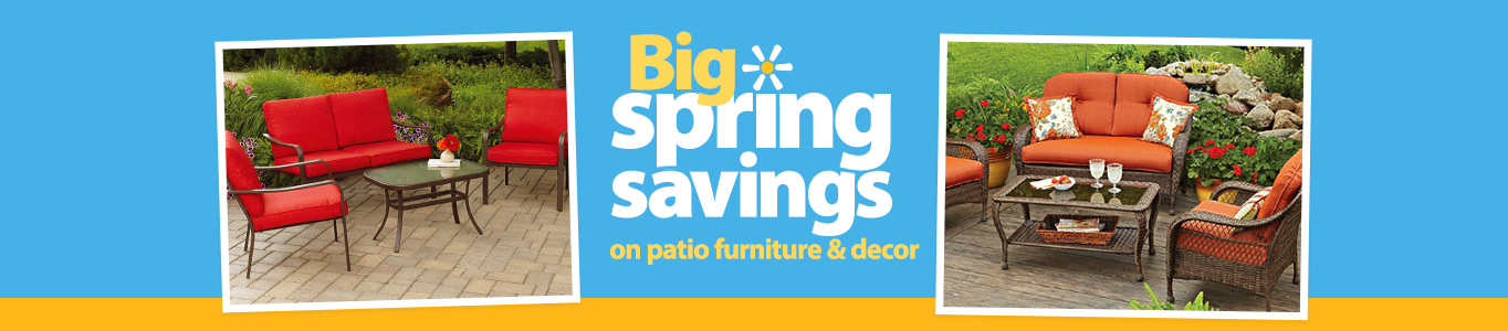big spring savings on patio furniture and decor - Patio Chair Cushions Clearance