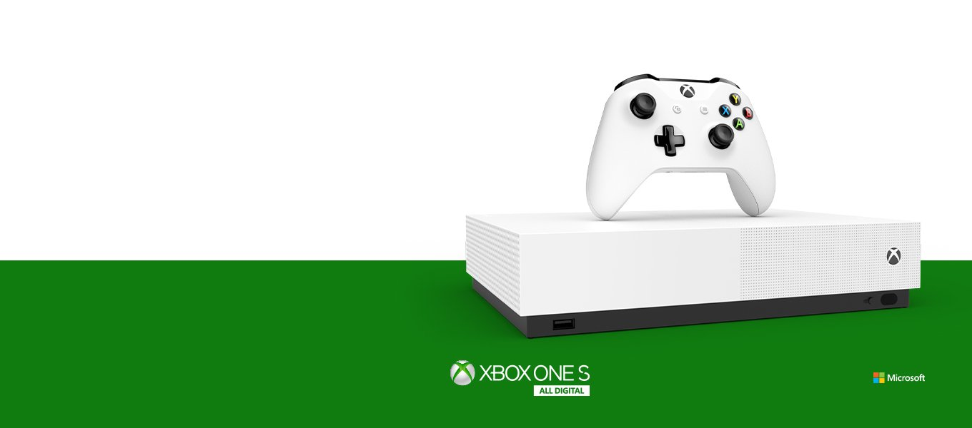 Xbox One S All Digital Preorder Now Go Experience Disc