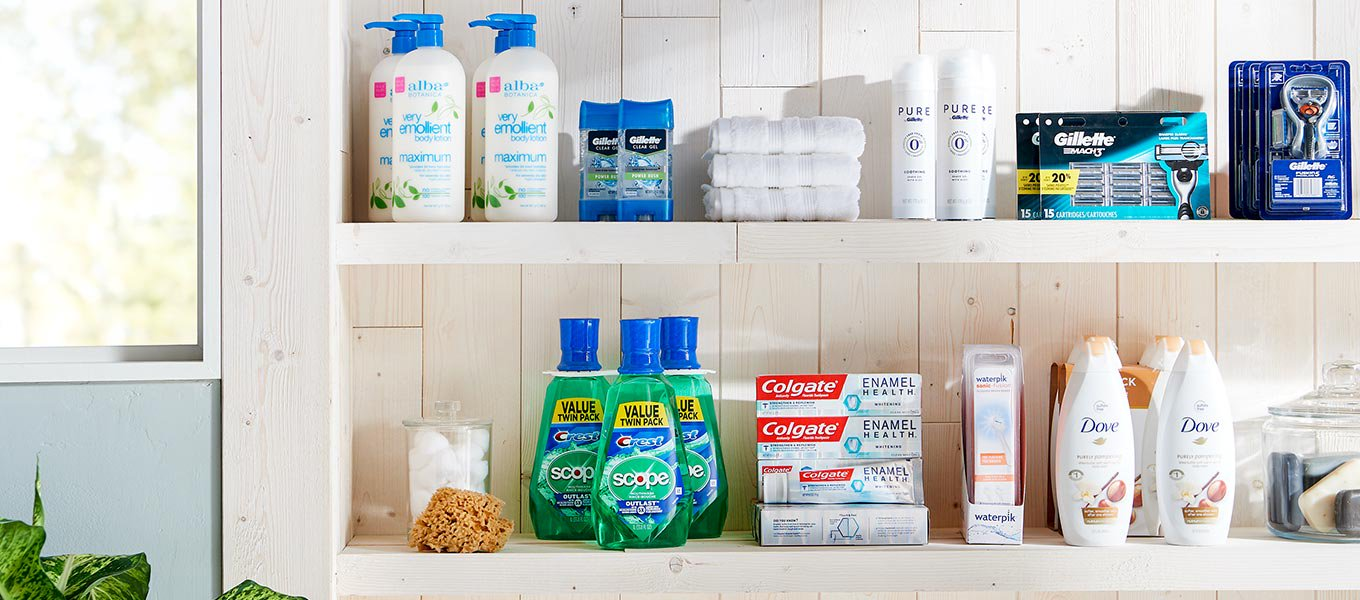 Keep it fresh. Stock up on personal care for summer.