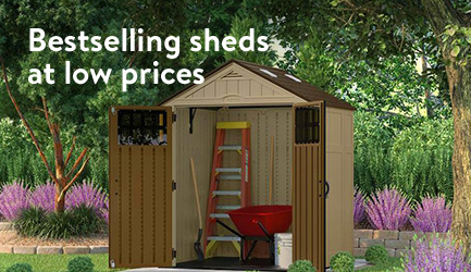 Bestselling sheds at low prices