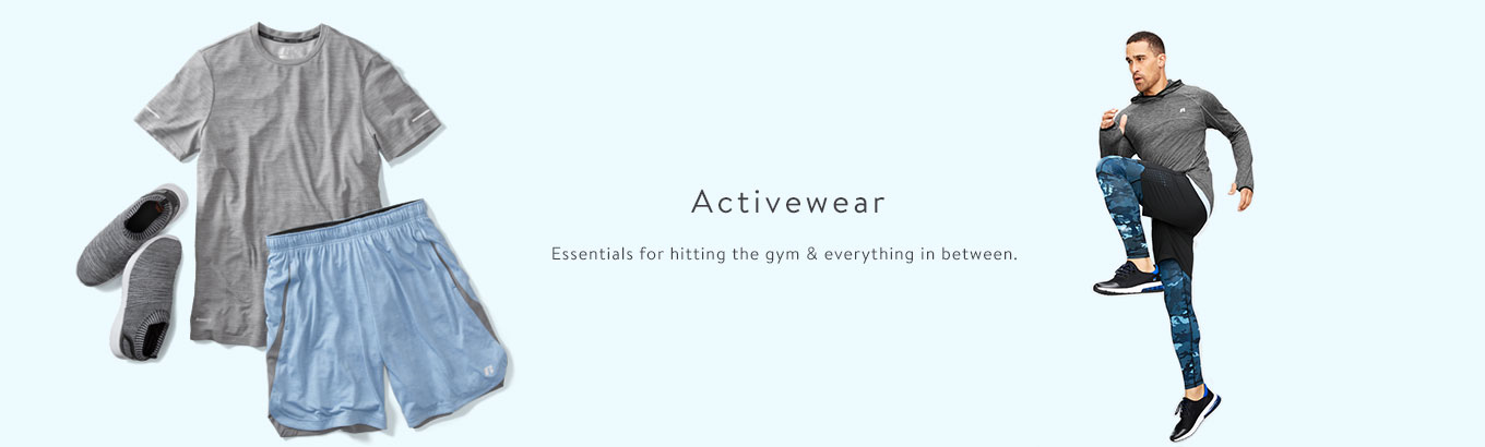 Activewear essentials for hitting the gym & everything in between