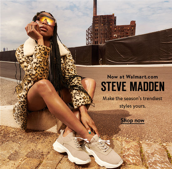 Introducing Steve Madden. Make the season's trendiest styles yours. Shop now.