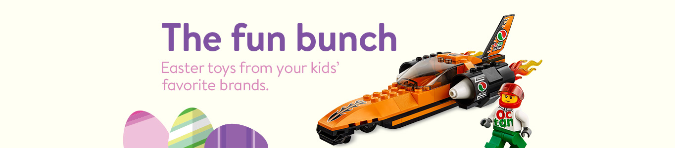 The fun bunch. Shop Easter toys from your kids' favorite brands.
