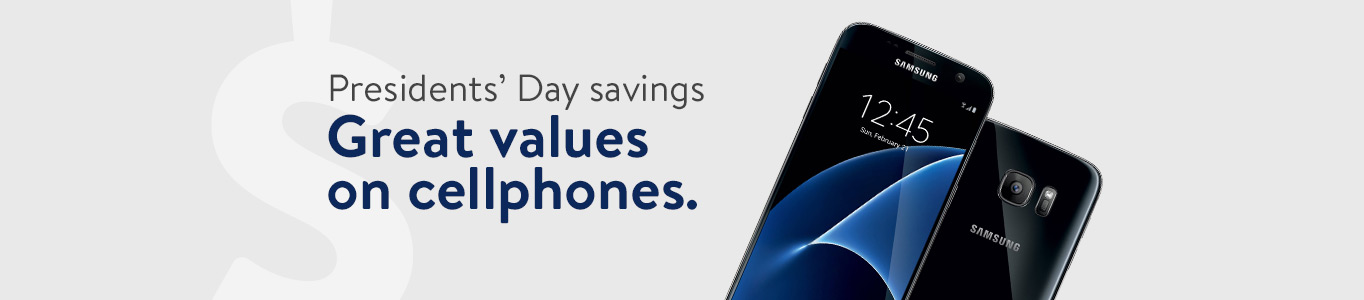 Presidents' Day savings: Great values on cellphones.
