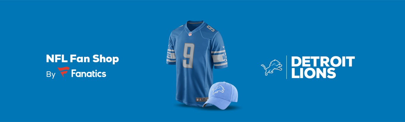 Detroit Lions Team Shop