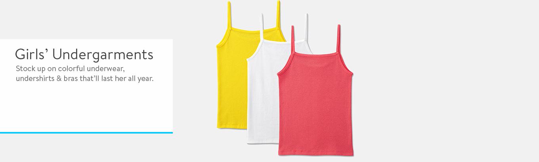 Girls Underwear - Walmart.com