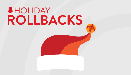 Holiday Rollbacks