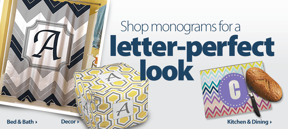 Shop monograms for a letter-perfect look.