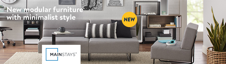 New Modular Furniture With Minimalist Style From Mainstays