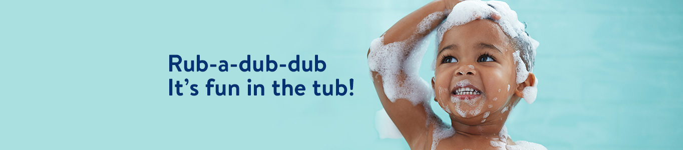 Baby Bath Image Banner - Creative Approved