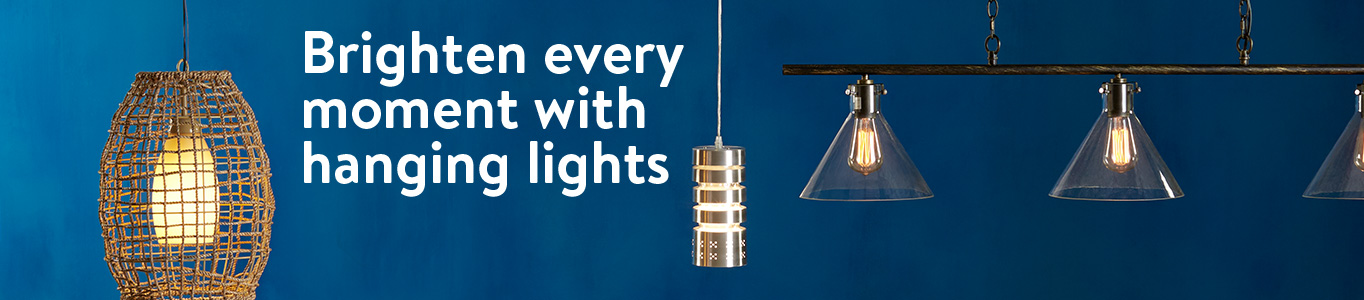 Brighten Every Moment With Hanging Lights