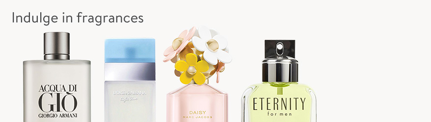 Indulge in fragrances
