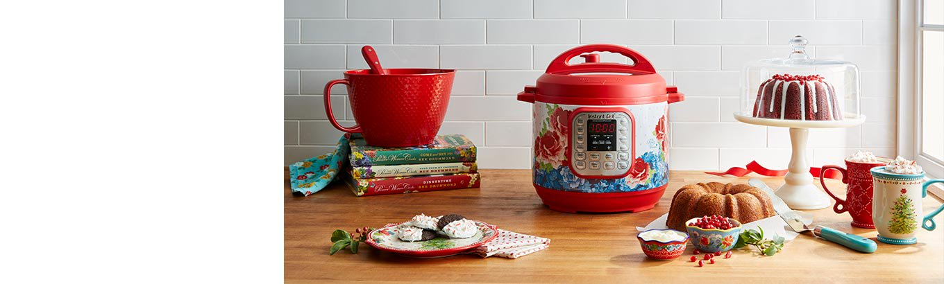 Festive essentials and the latest Instant Pot from The Pioneer Woman.