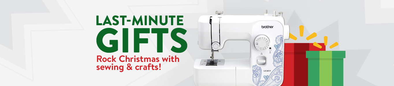 Last-minute gifts. Rock Christmas with sewing and crafts!