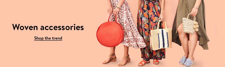 a0c2c0df2c613 Woven accessories. Shop the trend.
