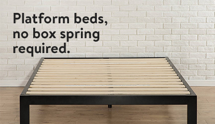 Platform Beds, No Box Spring Required. Amazing Ideas
