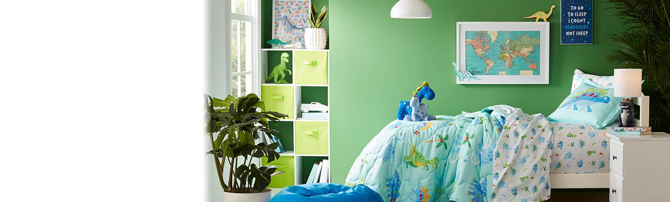 More for kids. Reimagine their room. From bedroom to playroom, create happy spaces for every personality.