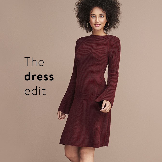 The dress edit Get dressed in the season's best.