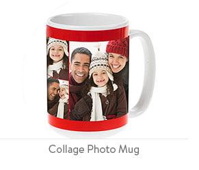 Collage Photo Mug