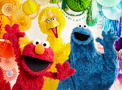 Sesame Street 50th Anniversary. Shop our special collection & celebrate!