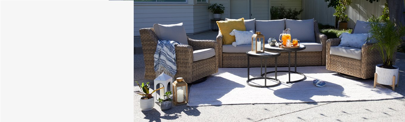 Patio Furniture Com, Small Space Outdoor Furniture