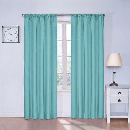 Thermal Patio Door Curtains Sheer Curtain Panels at Wal