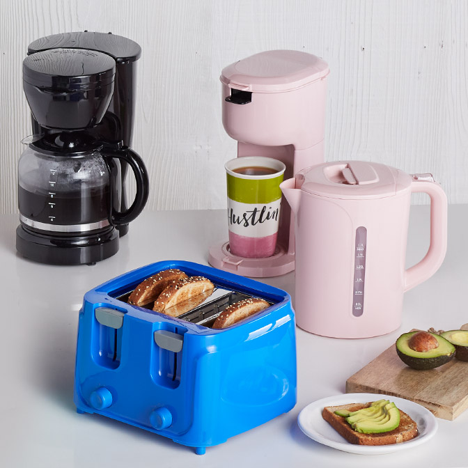 Cook With Colorful Appliances.