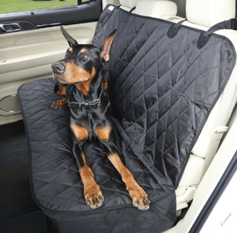 Heavy Duty Quilted Pet Hammock Seat Cover  For Hyundai Elantra Hatchback 01-06