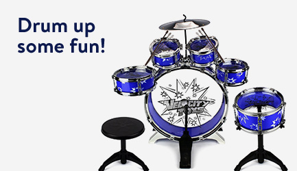 Drum up some fun!