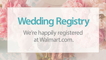 Wedding Gift Registry Card 350x200