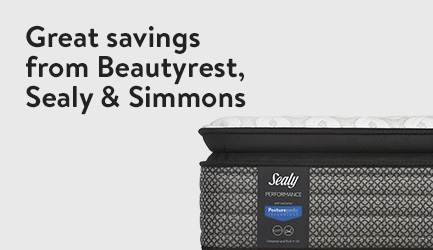 Great savings from Beautyrest, Sealy & Simmons
