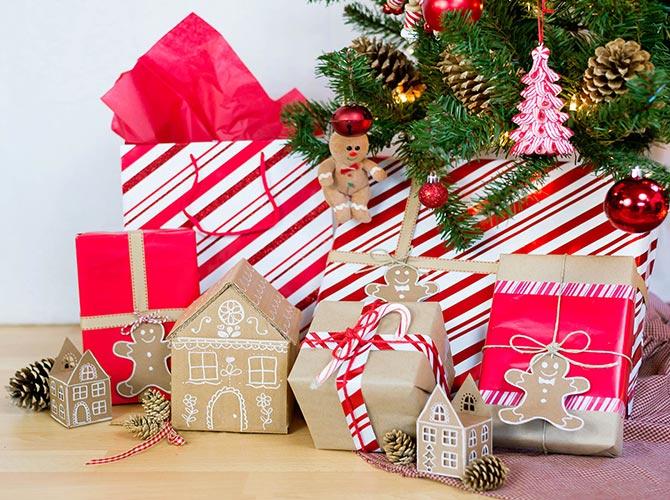 Cardboard Gingerbread House Gift Box How To Walmart Com